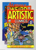 Bronze Age (1970-1979):Alternative/Underground, Miscellaneous Underground Comics Group (Various, 1971-92). This group includes Artistic Comics #1 (NM, first printing, R... (Total: 7 Comic Books Item)