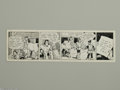 Original Comic Art:Comic Strip Art, R.B. Fuller - Oaky Doaks Daily Comic Strip Original Art, dated 1-14 (AP Features, year undated). Oaky Doaks and Nelly rush t...