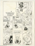 "Original Comic Art:Complete Story, Mo Leff (attributed) - Little Max #1 Complete 6-page Story ""CircusDaze"" Original Art (Harvey, 1949). Opening story from the...(Total: 6 Original Art Item)"