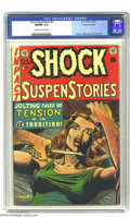 Golden Age (1938-1955):Horror, Shock SuspenStories #8 Gaines File pedigree 3/12 (EC, 1953) CGCNM/MT 9.8 Off-white to white pages. Al Feldstein's sharply r...