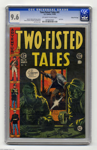 Two-Fisted Tales #41 Gaines File pedigree 9/12 (EC, 1955) CGC NM+ 9.6 Off-white to white pages. All good things must com...