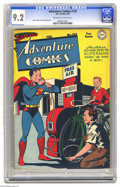 Golden Age (1938-1955):Superhero, Adventure Comics #125 (DC, 1948) CGC NM- 9.2 Off-white to whitepages. No problem is too big or small for Superboy -- you ca...