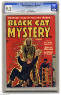 Golden Age (1938-1955):Horror, Black Cat Mystery #33 (Harvey, 1952) CGC NM- 9.2 Cream to off-whitepages. There's nothing subtle about this electrocution c...