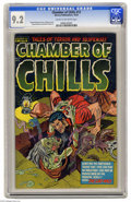 Golden Age (1938-1955):Horror, Chamber of Chills #13 (Harvey, 1952) CGC NM- 9.2 Cream to off-whitepages. It's pre-Code horror Harvey style, brought to you...
