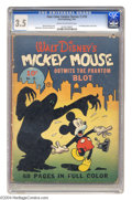 Golden Age (1938-1955):Cartoon Character, Four Color (Series One) #16 Mickey Mouse (Dell, 1941) CGC VG- 3.5Cream to off-white pages. Disney Comics don't get much mor...