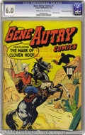 Golden Age (1938-1955):Western, Gene Autry Comics #1 File Copy - Crowley pedigree (Fawcett, 1941)CGC FN 6.0 Cream to off-white pages. Both Gerber and Overs...