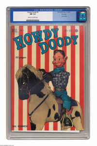 Howdy Doody #5 File Copy (Dell, 1950) CGC NM 9.4 Cream to off-white pages. It's fitting that the first TV comic book tie...