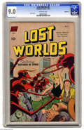 Golden Age (1938-1955):Science Fiction, Lost Worlds #6 Bethlehem pedigree (Standard, 1952) CGC VF/NM 9.0Off-white pages. It's no picnic for these city dwellers who...