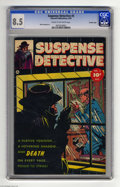 Golden Age (1938-1955):Crime, Suspense Detective #3 Crowley pedigree (Fawcett, 1952) CGC VF+ 8.5 Cream to off-white pages. Oddly enough, this book hasn't ...