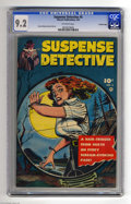 Golden Age (1938-1955):Crime, Suspense Detective #5 Crowley pedigree (Fawcett, 1953) CGC NM- 9.2 Off-white pages. Just as an unseen sniper takes aim at th...