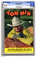 Golden Age (1938-1955):Western, Tom Mix Western #1 File Copy - Crowley pedigree (Fawcett, 1948) CGCVF/NM 9.0 Cream to off-white pages. There's no better te...