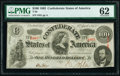 Confederate Notes:1863 Issues, T56 $100 1863 PF-1 Cr. 403 PMG Uncirculated 62.. ...