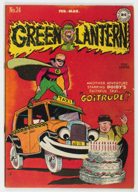 Green Lantern #24 (DC, 1947) Condition: FN-