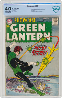Showcase #22 Green Lantern (DC, 1959) CBCS VG 4.0 Off-white to white pages