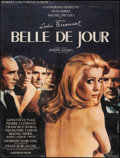 "Movie Posters:Foreign, Belle de Jour (Valoria, 1967). Fine- on Linen. Full-Bleed French Grande (45"" X 60.75"") Rene Feracci Artwork. Foreign.. ..."