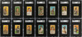 Baseball Cards:Lots, 1909-11 T206 Piedmont/Sweet Corporal Collection (800+) With 2 Cobb Cards. ...