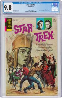 Star Trek #23 (Gold Key, 1974) CGC NM/MT 9.8 White pages