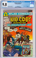 Bronze Age (1970-1979):Western, Western Action #1 (Atlas-Seaboard, 1975) CGC NM/MT 9.8 Off-white to white pages....