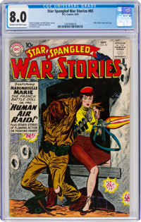 Star Spangled War Stories #85 (DC, 1959) CGC VF 8.0 Cream to off-white pages