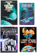 Books:Vintage Paperbacks, Star Trek Related Vintage Paperbacks and Hardcover Books Group of 14 (Various Publishers, 1967-96) Condition: Average FN....