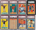 Football Cards:Sets, 1956 Topps Football Near Set (118/120) With Checklist Card, Contest Card and Extras. ...