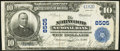 Norwood, OH - $10 1902 Plain Back Fr. 626 The Norwood National Bank Ch. # 8505 Very Fine-Extremely Fine