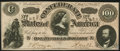 """Confederate Notes:1864 Issues, CT65 """"Havana Counterfeit"""" $100 1864 About Uncirculated.. ..."""