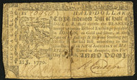 Maryland March 1, 1770 $1/2 Very Good