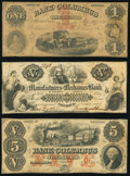 Obsoletes By State:Georgia, Columbus, GA- Bank of Columbus $1; $5 Sep. 1, 1856 Fine or Better; Manufacturers and Mechanics Bank of Columbus $5 Nov. ... (Total: 3 notes)