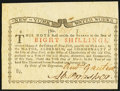 New York March 5 , 1776 (Water Works) 8s Crisp Uncirculated