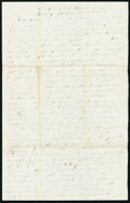 "Miscellaneous:Other, Letter Written by a Solider from ""Camp Near Richmond"" Friday November 11, 1864. Not Graded.. ..."