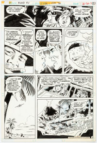 Ric Estrada, Wally Wood, and Al Sirois Richard Dragon, Kung-Fu Fighter #6 Story Page 7 Original Art (DC, 1976)