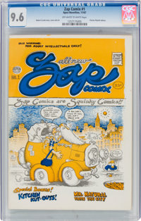 Zap Comix #1 (1st Printing - Plymell) (Apex Novelties, 1967) CGC NM+ 9.6 Off-white to white pages