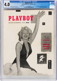 Playboy #1 Page 3 Copy (HMH Publishing, 1953) CGC VG 4.0 Off-white to white pages