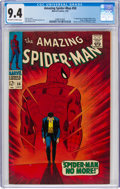 Silver Age (1956-1969):Superhero, The Amazing Spider-Man #50 (Marvel, 1967) CGC NM 9.4 Off-white to white pages....
