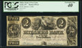 Clyde, NY- Millers Bank of New York $2 Mar. 2, 1840 G4 PCGS Extremely Fine 40