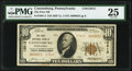 Canonsburg, PA - $10 1929 Ty. 2 The First National Bank Ch. # 13813 PMG Very Fine 25