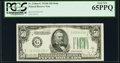 Fr. 2106-G $50 1934D Mule Federal Reserve Note. PCGS Gem New 65PPQ