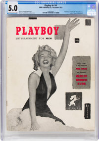 Playboy #1 (HMH Publishing, 1953) CGC VG/FN 5.0 Off-white to white pages