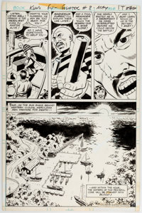 Ric Estrada, Wally Wood, and Al Sirois Richard Dragon, Kung-Fu Fighter #8 Story Page 10 Original Art (DC, 1976)