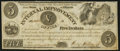 Springfield, IL- Internal Improvement Office $5 Aug. 15, 1840 Choice About Uncirculated