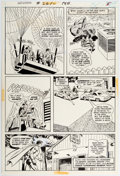 Original Comic Art:Panel Pages, Curt Swan and Murphy Anderson Superman #261 Story Page 5 Original Art (DC, 1973)....