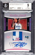 Basketball Cards:Singles (1980-Now), 2004-05 Exquisite Collection Dwight Howard #90 BGS Mint 9, Autograph 10 - #78/99. ...