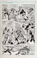 Original Comic Art:Panel Pages, Alex Saviuk and Keith Williams Web of Spider-Man #74 Story Page 16 Original Art (Marvel, 1991)....