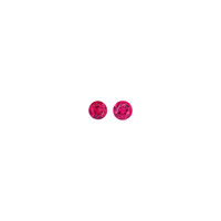 Gemstone: Red Beryl Matched Pair - 0.51 TCW Ruby Violet claims (Violet mine; Red Emerald mine; Harris mine)
