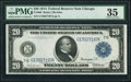 Fr. 988 $20 1914 Federal Reserve Note PMG Choice Very Fine 35