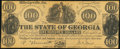 Obsoletes By State:Georgia, Milledgeville, GA- State of Georgia $100 Jan. 15, 1862 Cr. 1 Counterfeit Very Fine.. ...