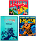 Books:General, Flash Gordon Related Books and Magazines Short Box Group (Various Publishers, 1959-88) Condition: Average VF.... (Total: 17 Items)