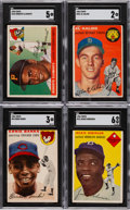 Baseball Cards:Lots, 1954 - 1960 Topps Baseball Rookies/Stars/Hall of Famers Collection (15). ...