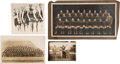 Football Collectibles:Photos, 1914-28 Knute Rockne and Notre Dame Vintage Photographs Lot of 4.... (Total: 4 items)